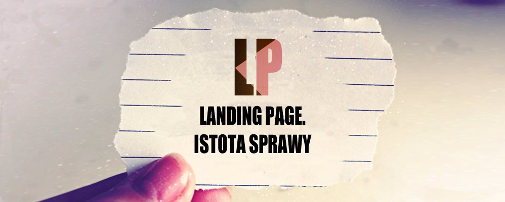 Landing Page co to jest?